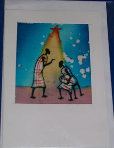 Uganda crafts greeting cards